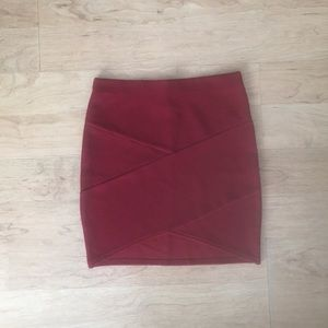 🌹Red Pencil Skirt 🌹